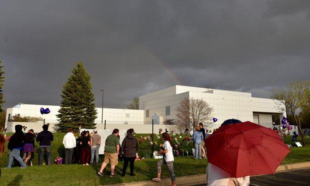 rainbow over princes house