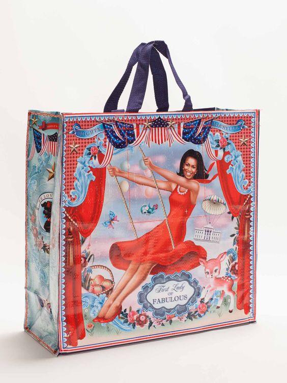 Michelle Obama Shopping Bag